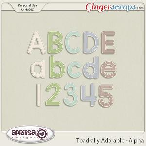 Toad-ally Adorable - Alpha