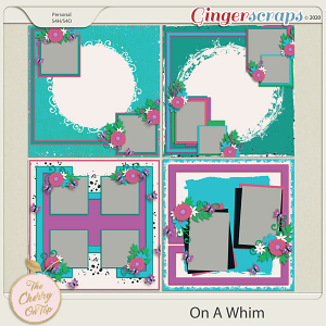 The Cherry On Top:   On A Whim Templates