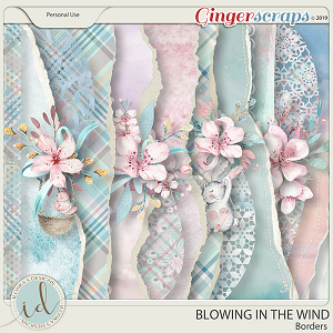 Blowing In The Wind Borders by Ilonka's Designs