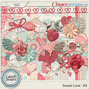 Sweet Love Kit: by CathyK Designs