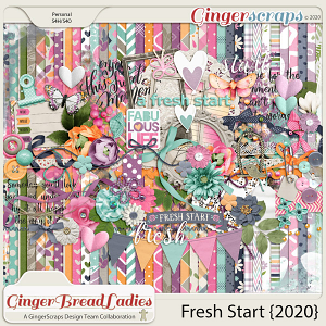 GingerBread Ladies Collab: Fresh Start {2020}