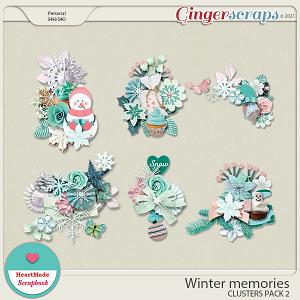 Winter memories - clusters pack 2