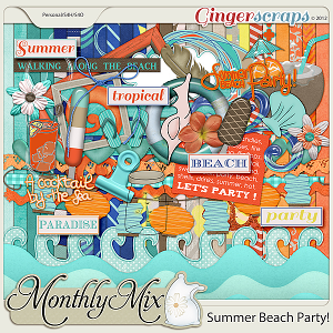 Monthly Mix: Summer Beach Party
