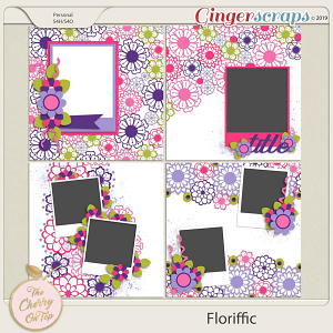 The Cherry On Top: Floriffic Templates