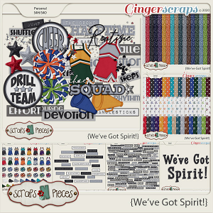 We've Got Spirit Theme Kit by Scraps N Pieces