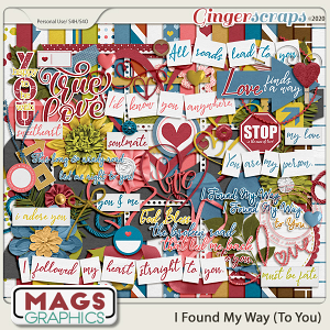 I Found My Way To You KIT by MagsGraphics