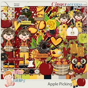 Apple Picking - Page Kit