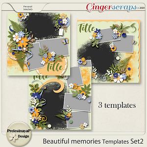 Beautiful memories Templates Set2