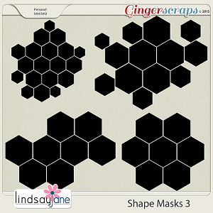 Shape Masks 3 by Lindsay Jane