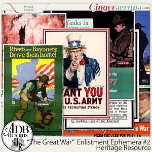 Heritage Resource Enlistment Ephemera Set 02 by ADB Designs