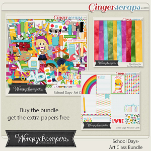 School Days- Art Class Bundle
