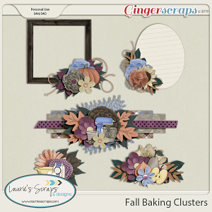 Fall Baking Clusters