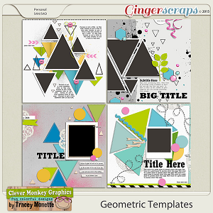 Geometric Templates No.1 by Clever Monkey Graphics