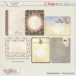 Hazel Nutkins Pocket Cards