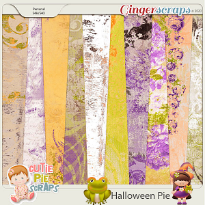 Halloween Pie-Shabby Chic BG
