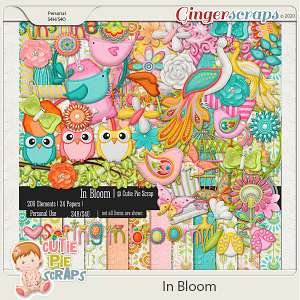 In Bloom Page Kit