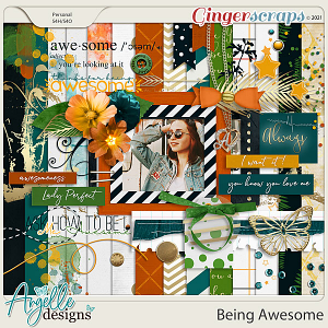 Being Awesome by Angelle Designs