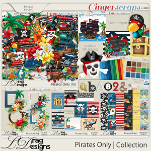 Pirates Only: The Collection by LDragDesigns