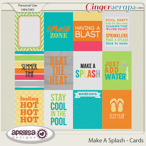 Make A Splash - Cards
