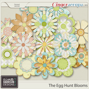The Egg Hunt Blooms by Aimee Harrison