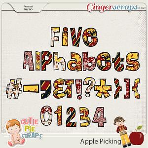 Apple Picking - Alphabets