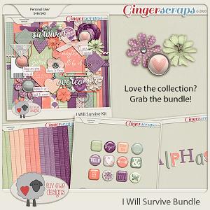 I Will Survive Bundle by Luv Ewe Designs