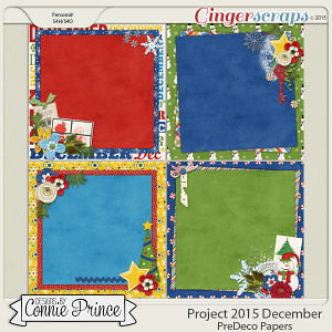Project 2015 December - PreDeco Papers