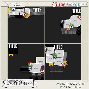 White Space Volume 10 - 12x12 Temps (CU Ok)