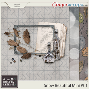 Snow Beautiful Mini Kit #1 by Aimee Harrison