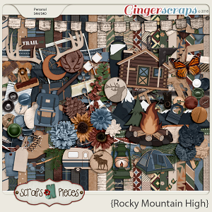 Rocky Mountain High kit by Scraps N Pieces