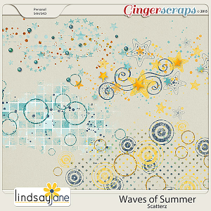 Waves of Summer Scatterz by Lindsay Jane