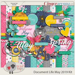 Document Life May 2019 Kit by Luv Ewe Designs