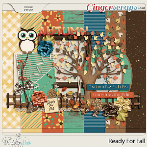 Ready For Fall Digital Scrapbook Kit by Dandelion Dust Designs