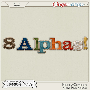 Happy Campers - Alpha Pack AddOn
