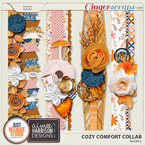 Cozy Comfort Borders by JB Studio and Aimee Harrison Designs