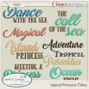Island Princess Titles