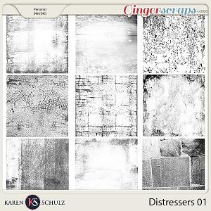 Distressers 01 by Karen Schulz