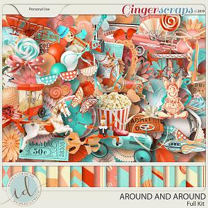 Around And Around Full Kit by Ilonka's Designs