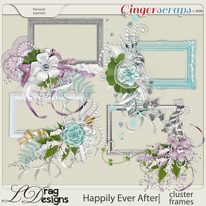 Happily Ever After: Cluster Frames by LDragDesigns