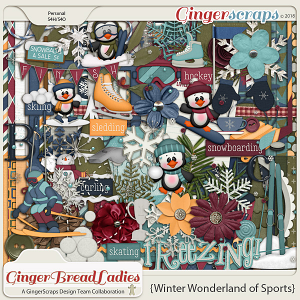 GingerBread Ladies Collab: Winter Wonderland of Sports