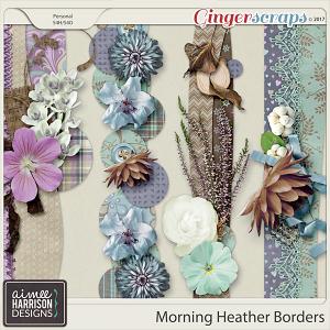 Morning Heather Borders by Aimee Harrison