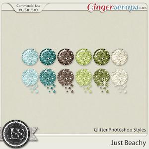 Just Beachy Glitter Photoshop Styles