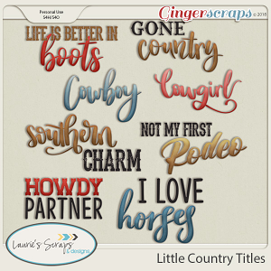 Little Country Titles