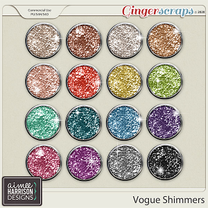 Vogue Shimmers by Aimee Harrison