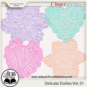 Delicate Doilies Vol 01 by ADB Designs
