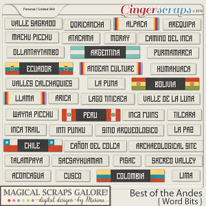Best of the Andes (word bits)