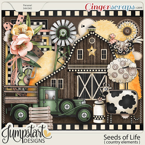 Seeds of Life {Country Elements} by Jumpstart Designs