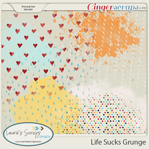 Life Sucks Grunge