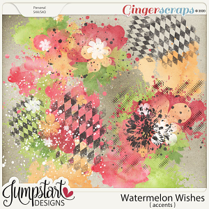 Watermelon Wishes {Accents} by Jumpstart Designs
