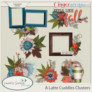 A Latte Cuddles Clusters